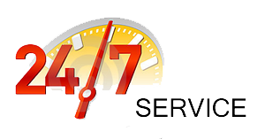 24/7 Service in Miami Dade, Broward and West Palm Beach